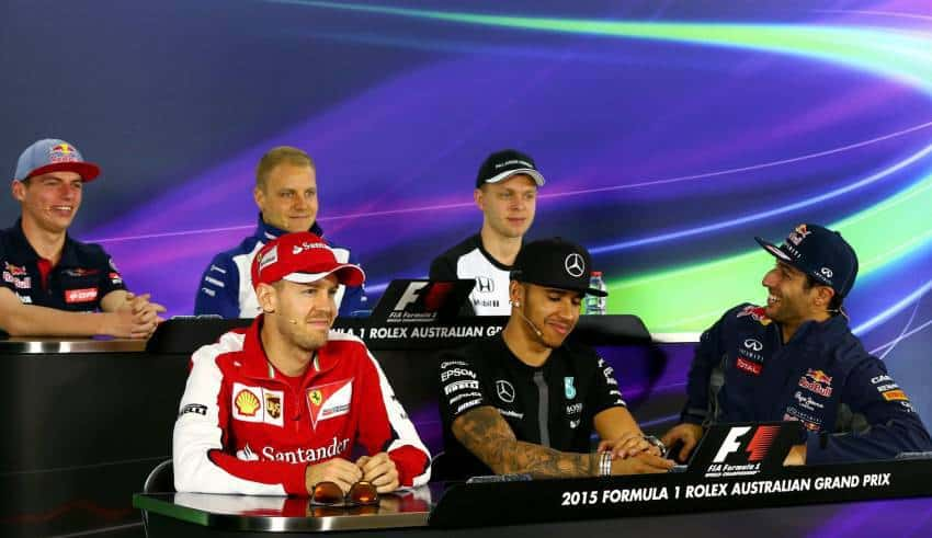 Australian GP F1 2015 press conference Foto Red Bull