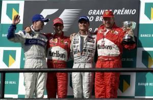 Brazilian GP F1 2002 podium Foto Ferrari