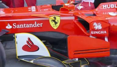 Ferrari SF70H Australian GP F1 2017 bargeboards area winglets Foto AMuS MAXF1net