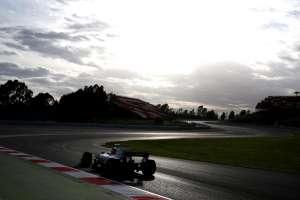 Force India F1 test Barcelona Foto Force India