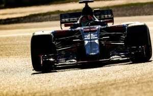 Kvyat Toro Rosso STR12 Barcelona test F1 2017 Foto XPB
