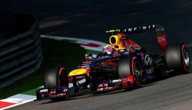Mark Webber Italian GP F1 2013 Monza Parabolica Foto Red Bull
