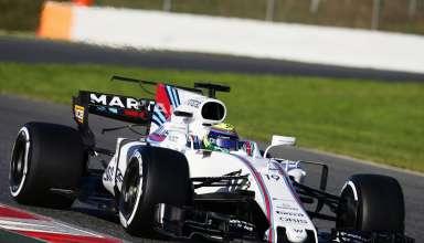 Massa Williams Barcelona zoom F1 test 2017 Foto XPB