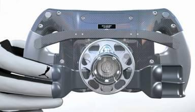 Mercedes W08 steering wheel finger trick screenshot yotube giorgio piola motorsport-com