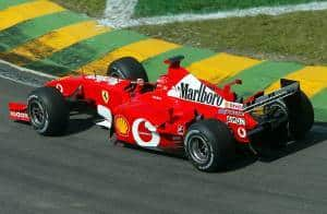Michael Schumacher Ferrari F2002 Brazilian GP F1 2002 Foto Ferrari
