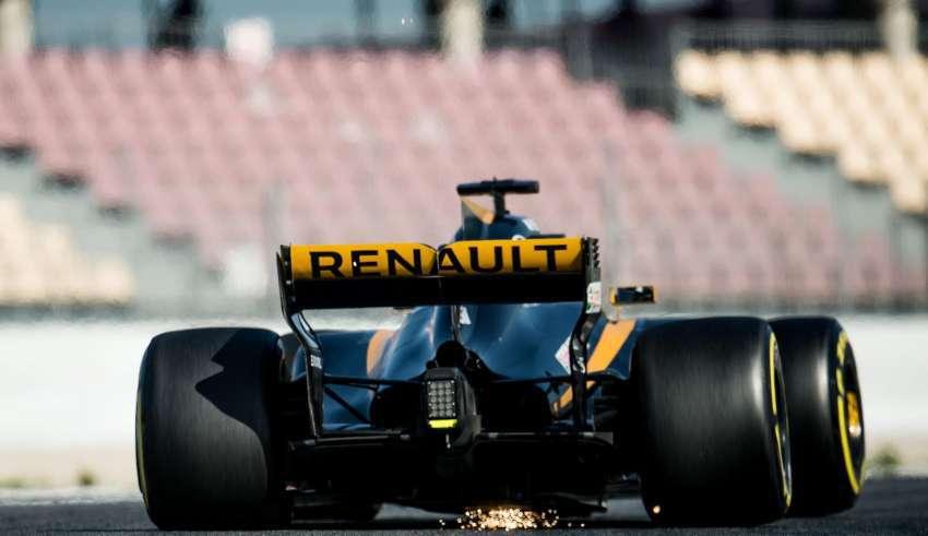 Renault F1 test 2017 FOto XPB