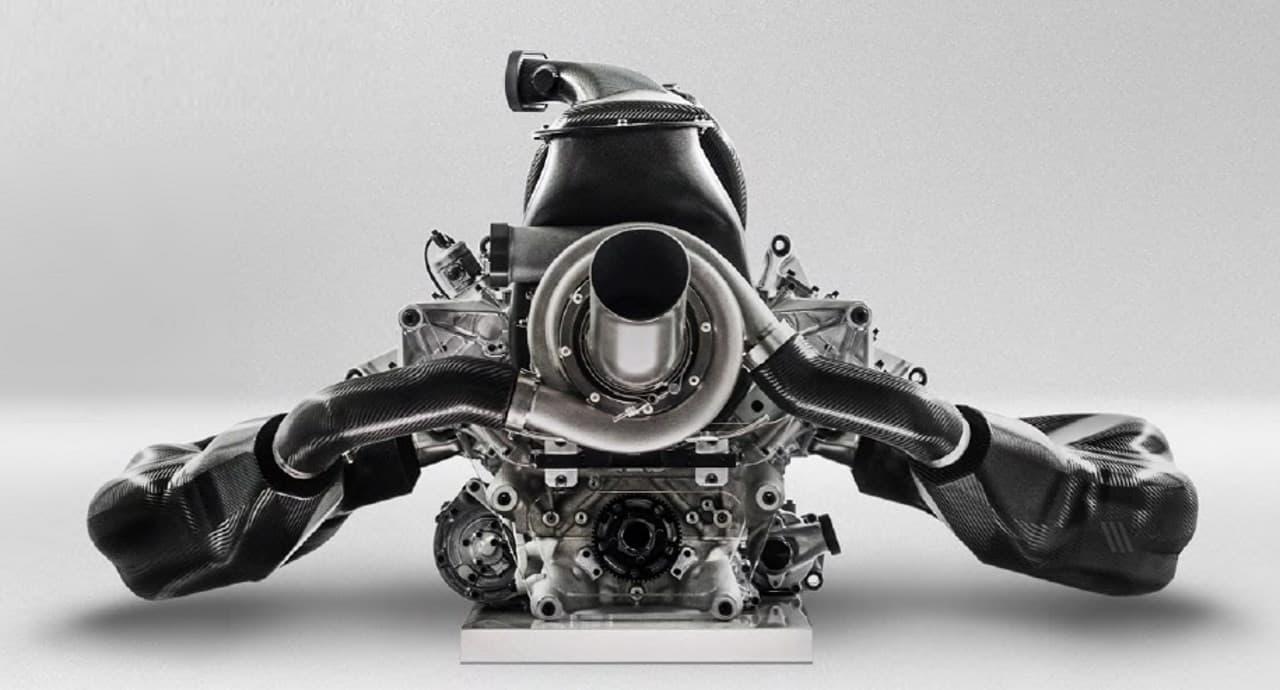 Renault R.E.17 power unit F1 2017 Foto Renault