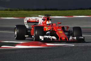 Vettel Ferrari SF70H F1 2017 testing Foto Ferrari