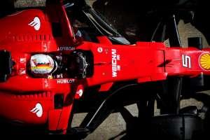 Barcelona F1 test vettel