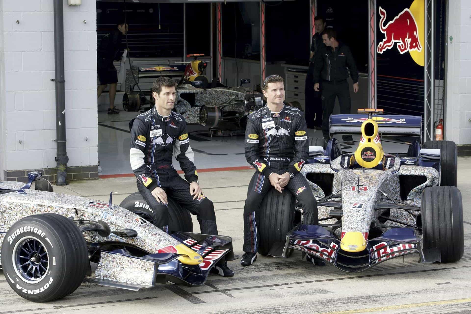 Webber Coulthard Red Bull F1 Foto Red Bull