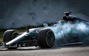 bottas mercedes f1 2017 barcelona test
