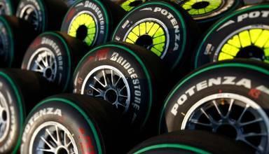 bridgestone f1 2009 tyres foto bridgestone