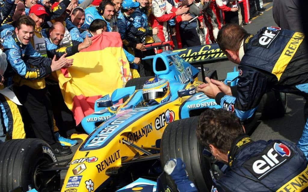 Alonso Renault R26 Australian GP F1 2006 Foto Reuters