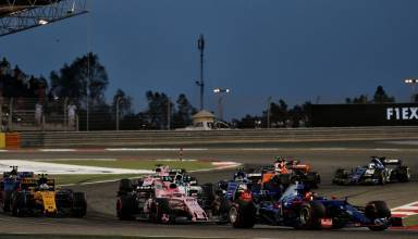 Bahrain GP F1 2017 race Foto Force India