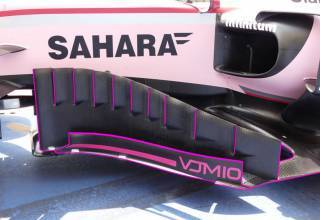 Force India VJM10 bargeboards Foto AMuS MAXF1net