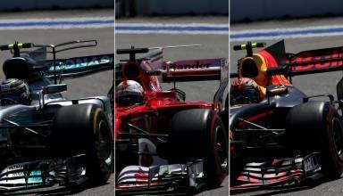 Mercedes Ferrari Red Bull F1 2017 Russian GP Foto MAXF1net