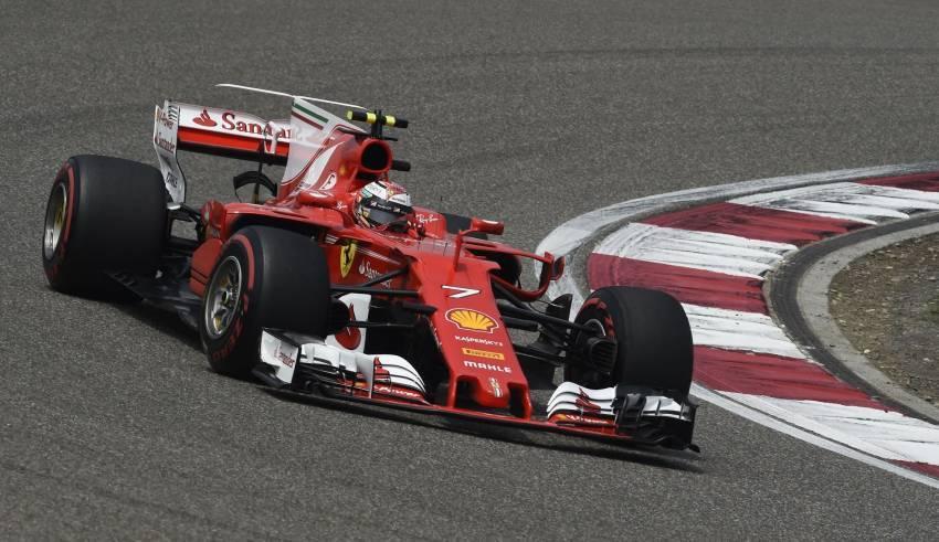 Raikkonen Chinese GP F1 2017 Foto Ferrari