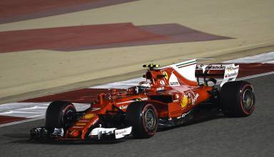 Raikkonen Ferrari SF70H Bahrain GP F1 2017 Foto Ferrari