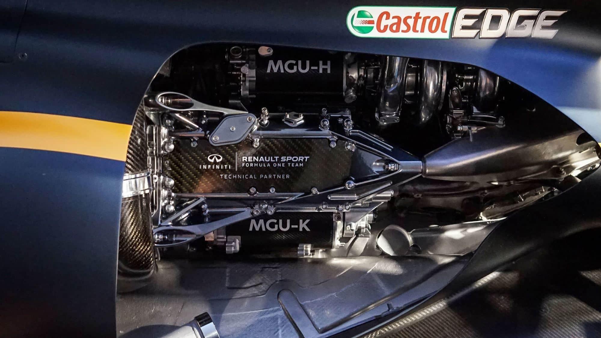 Renault F1 engine 2017 MGU-K Foto Renault
