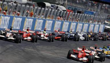 San Marino Imola F1 2006 start of the race Foto Ferrari