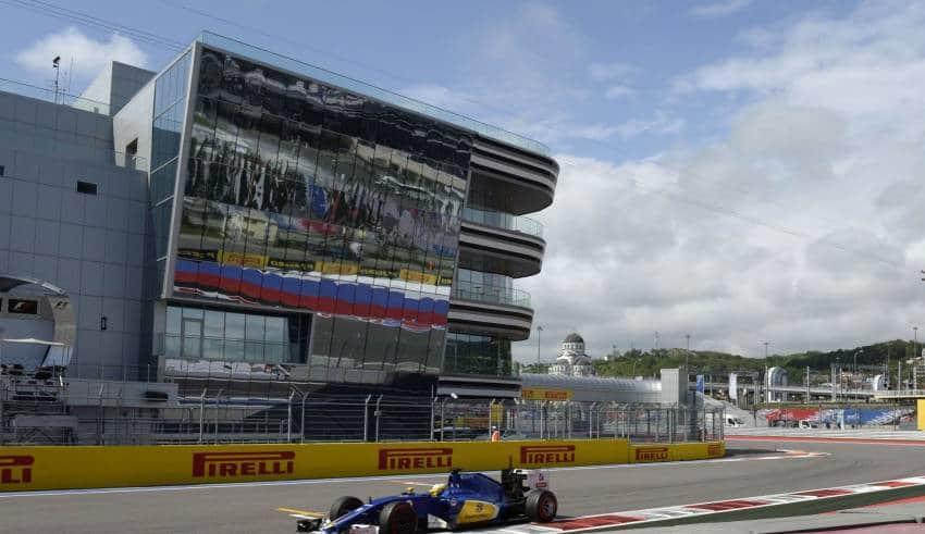 Sauber Russian F1 2016 Foto Pirelli