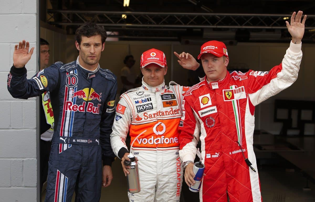 british gp f1 2008 post qualifying foto lat