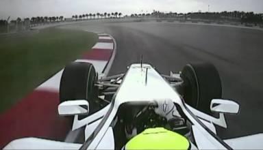 button onboard malaysia f1 2009 pole lap brawn gp bgp001 screenshot dailymotion