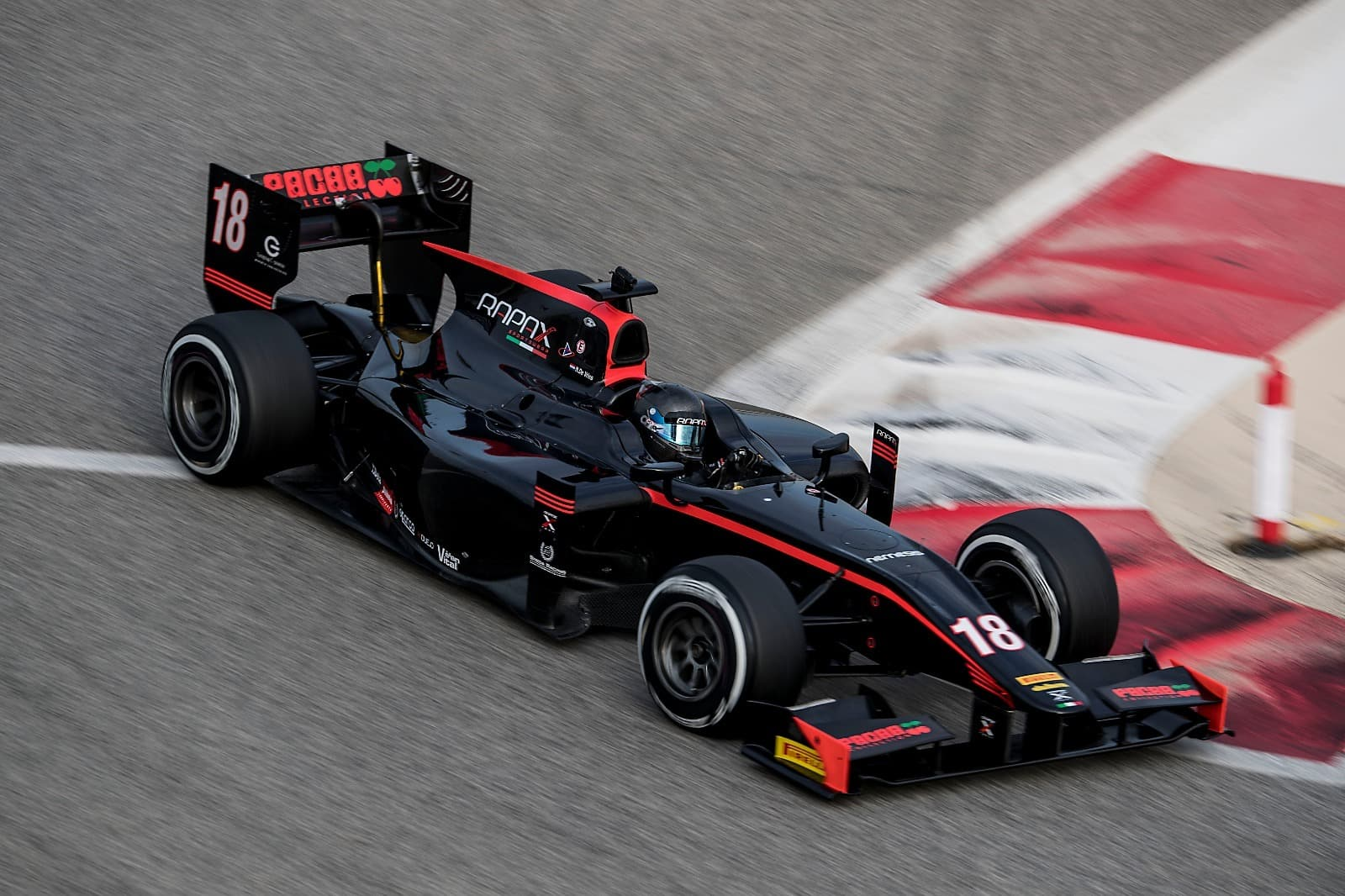 formula 2 bahrain test 2017 de vries