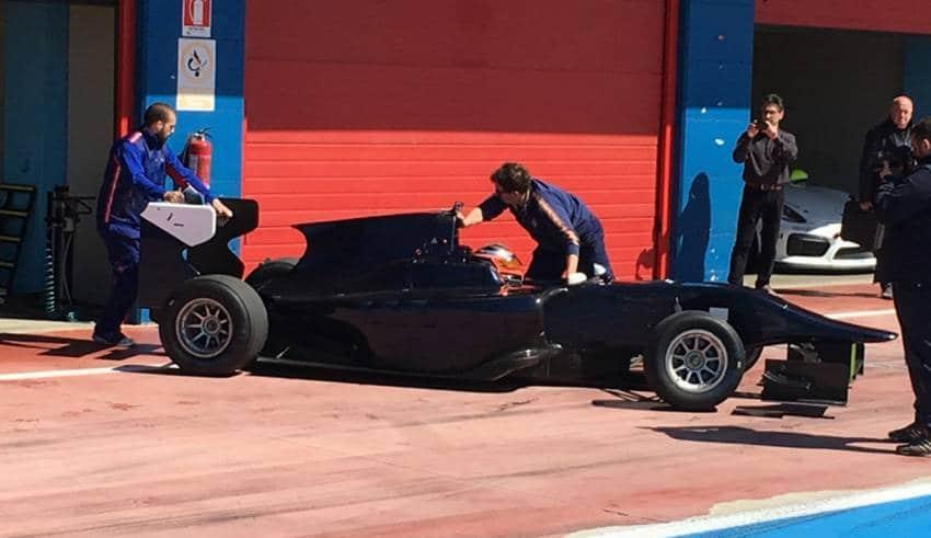 kubica test-franciacorta-2017-gp3 car foto motorsport