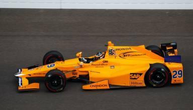 ALonso Indycar qualifying Foto IndyCar