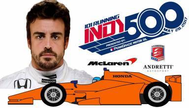 Alonso Indy500 graphic Youtube