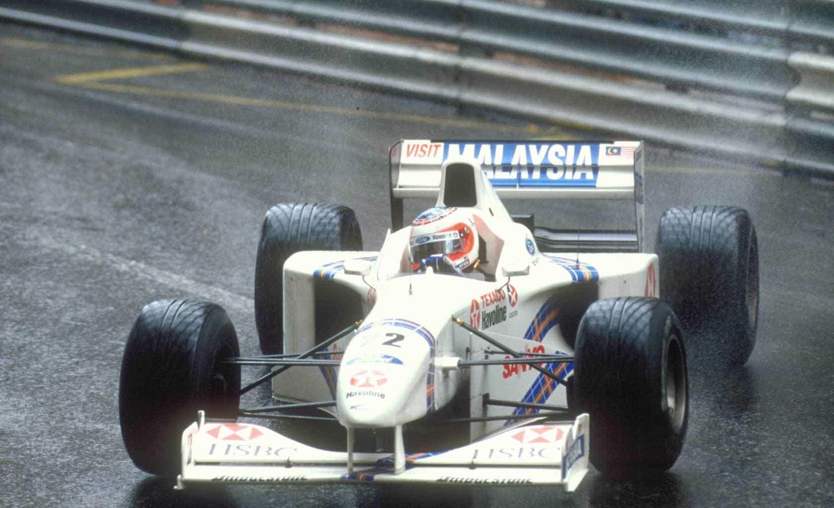 Barrichello Stewart Monaco F1 1997 FOto F1fanatic