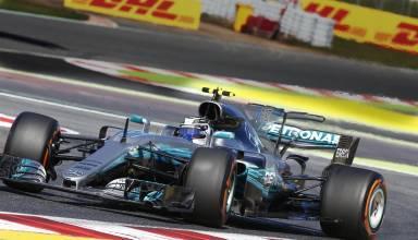 Bottas Mercedes Spanish GP F1 2017 Foto Daimler