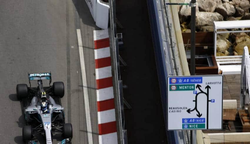 Bottas Monaco GP F1 2017 Foto Daimler