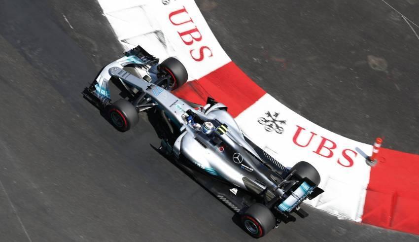Bottas St Devote Monaco F1 2017 Foto Daimler