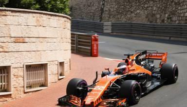 Button McLaren Honda MCL32 Monaco GP F1 2017 Foto McLaren