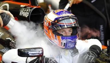 Button Singapore GP F1 2016 cockpit McLaren Honda Foto McLaren