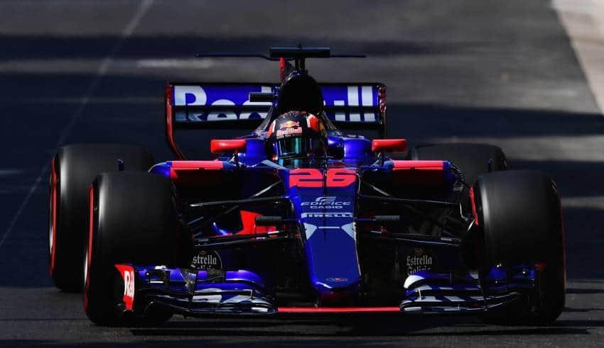 Daniil Kvyat Toro Rosso STR12 Monaco GP F1 2017 Foto Red Bull