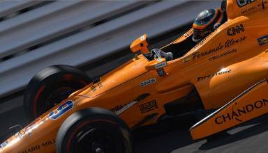 Fernando Alonso fast friday indy 500 practice Foto IndyCar