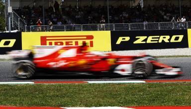 Ferrari Spain F1 2017 Pirelli banner Foto Pirelli