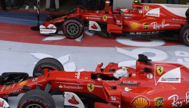 Ferrari-cars-Russia-F1-2017-Raikkonen-Vettel-parc-ferme-Photo-Ferrari