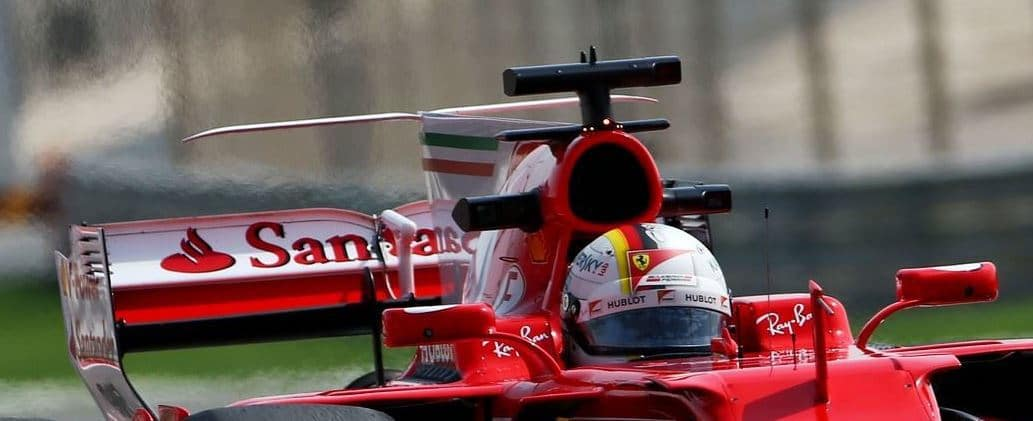 Ferrari old T-wing Barcelona F1 2017