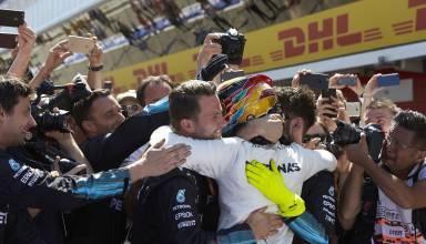 Hamilton Barcelona Spanish GP F1 2017 Foto Daimler