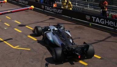 Hamilton Monaco pitlane F12017 Foto Daimler