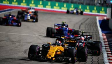 Hulkenberg leads midfield Russian GP F1 2017 Foto Renault