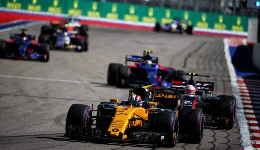 Hulkenberg leads midfield Russian GP F1 2017 Foto Renault