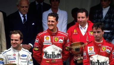 Monaco 1997 F1 podium