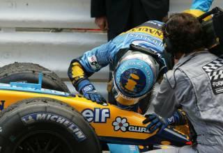 Monaco GP F1 2004 Trulli victory Foto F1fansite