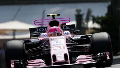 Ocon Force India T-wing Monaco F1 2017 Foto Force India