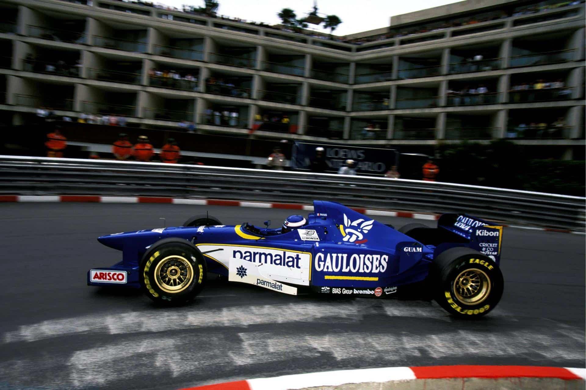 Panis Ligier Monaco F1 1996 Foto imgur